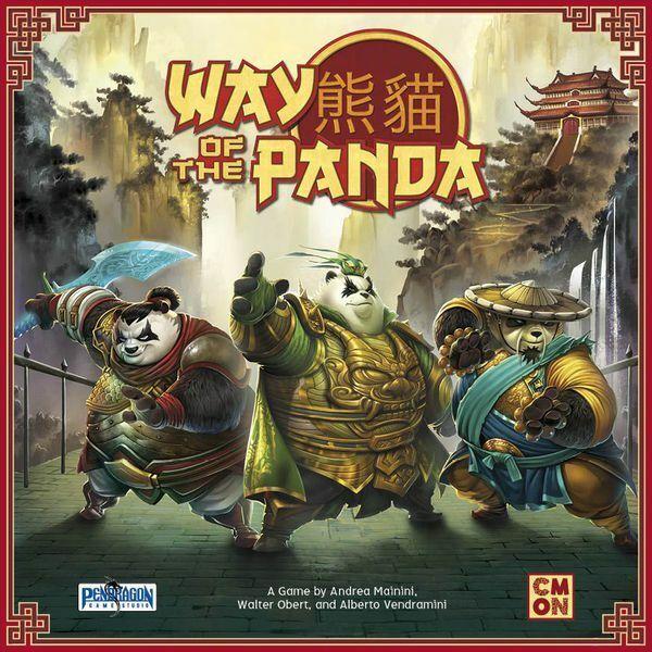 Forma de la panda por Cmon Juegos Nuevo Y En Caja