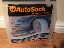 Autosock Snow Socks Winter Traction Aid 645 ( Cars & LCV )