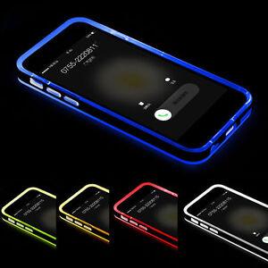 Hybrid-Rubber-LED-Light-Shockproof-Hard-Cover-Case-For-Apple-iPhone-5-6-6s-Plus