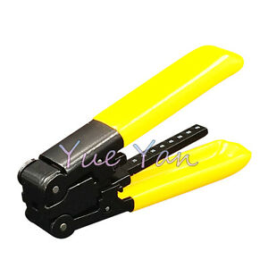 fiber optic stripping tool fiber optic stripper plier ftth cold crimping tool ebay. Black Bedroom Furniture Sets. Home Design Ideas