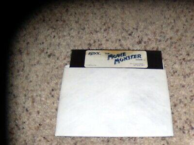 "Ambitieus Epyx The Movie Monster Commodore 64 C64 5.25"" Disk"
