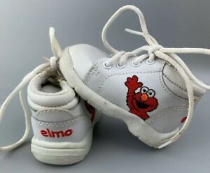 Vintage Sesame Street Elmo Baby Shoes Toddler Size 2 ...