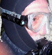 BEAVER STARLIGHT Scuba Diving MASCHERA LED TORCIA 160 Lumen di alluminio lampada