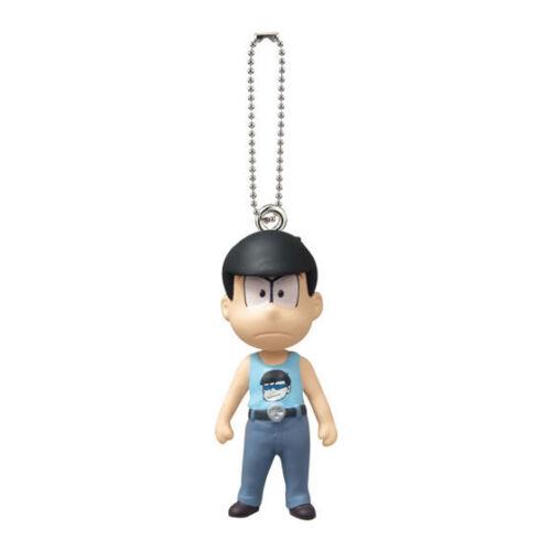 Osomatsu-san Key Chain Figure swing 02 Karamatsu Choromatsu Ichimatsu Jyushimats