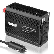 300W Car Power Inverter 12V DC to 110V Modified Sine Wave Inverter Fr Electronic