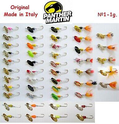 Köder,Forelle,Hechte,Barsch,Trout Angeln,Spinner,Blinker Panther Martin FLY 2g