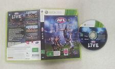 AFL Live Xbox 360 PAL Version