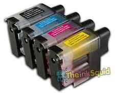 4 LC900 Ink Cartridge Set For Brother Printer  MFC640CW MFC820CW