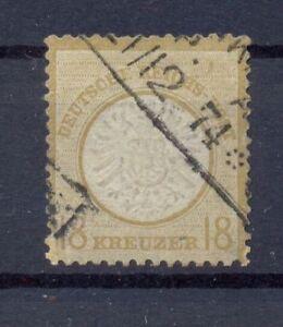 DR-28-Grosses-Brustschild-18-Kreuzer-gestempelt-geprueft-gr55