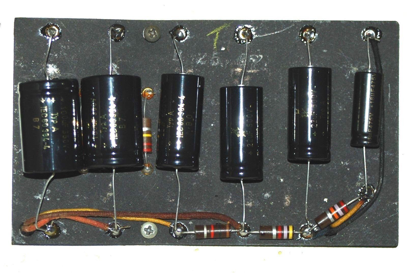 New F&T Fender Amp Capacitor Kit for Bassman Heads