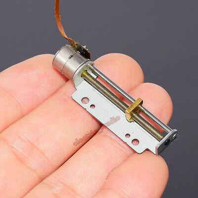 Mini 2-phase 4-wire Mini Stepper Motor Micro linear Screw Shaft Position Slider