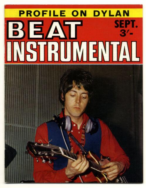 BEAT INSTRUMENTAL No 65 Sept 1968 Small Faces Pentangle Move Hollies Beatles