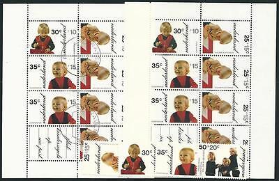 Block 11 Voor Het Kind! Qualifiziert Niederlande Aus 1972 ** Postfrisch Minr.1001-1004