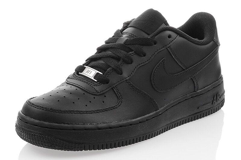 Nouveau Chaussures Nike Air Force 1 baskets Femmes Chaussures de sport noir 314192009