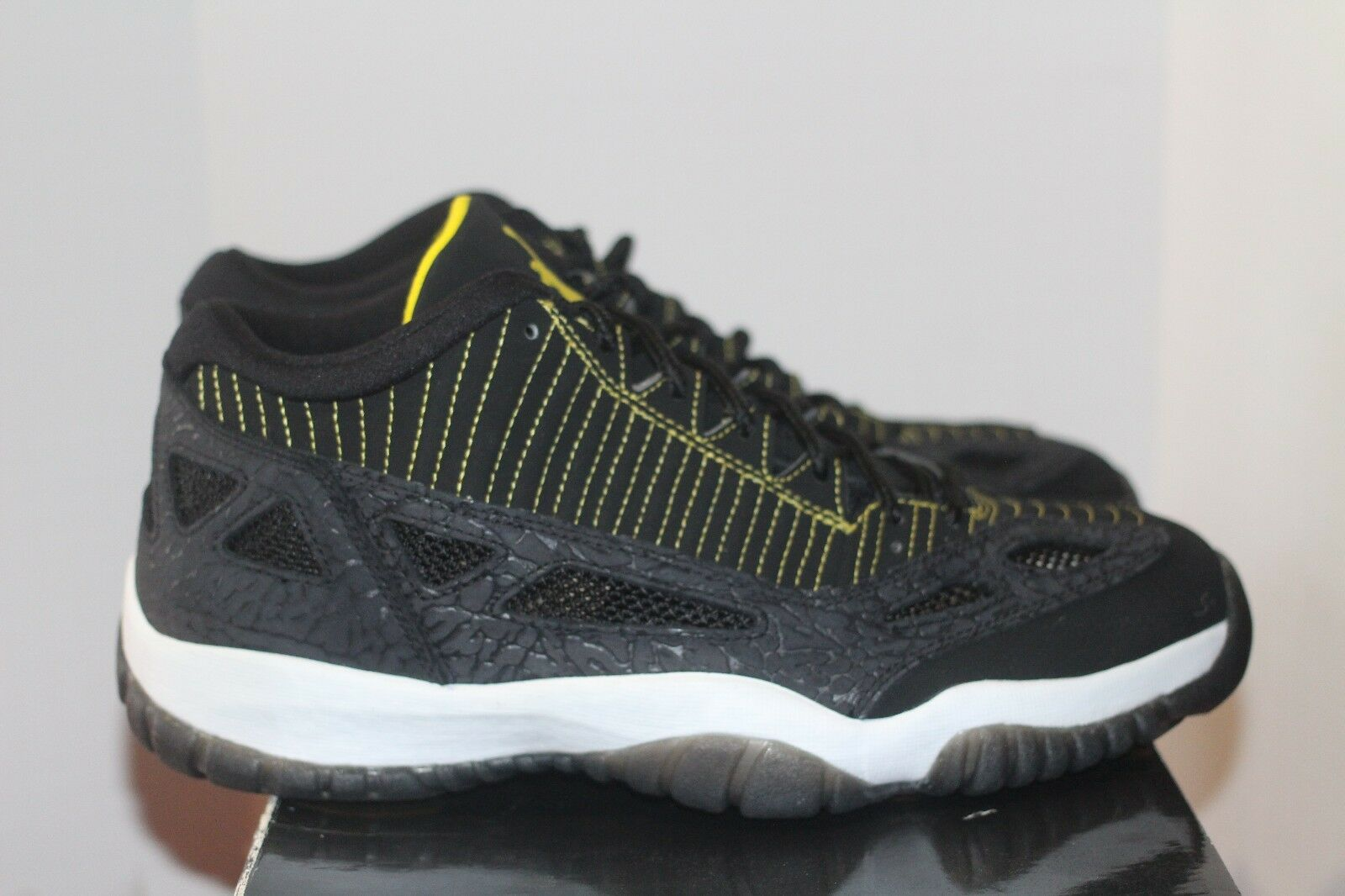 Air Jordan Retro XI Ie baja Pittsburgh talla nwb negro Zest Pittsburgh baja Steelers 800eb6