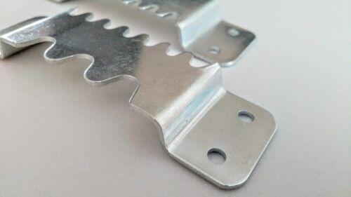 2 X colgador sawtooth Súper Resistente Para Espejos O Marcos De Gran Calidad hecha de lona