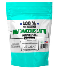 100% Food Grade Natural Diatomaceous Earth 1 lb Pound  Fast Shipping!