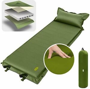 Sleeping-Pad-Self-Inflating-Portable-Air-Mattress-Foam-Camp-Hike-Mat-Air-Pillow