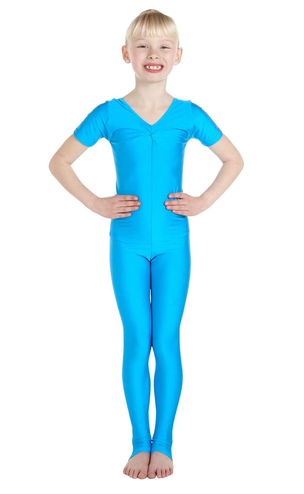 Lycra Catsuit Sleeveless Gath/'d Bust Ballet Colours #BECKI