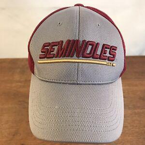 47309b8c3f3d0 Image is loading Florida-State-Seminoles-NCAA-Polyester-Strapback-Baseball- Cap-