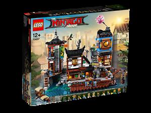 LEGO-THE-LEGO-NINJAGO-MOVIE-70657-City-Hafen-NEU-OVP-City-Docks-NEW-MISB