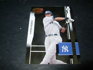 2003 Leaf Certified #121 Derek Jeter New York Yankees