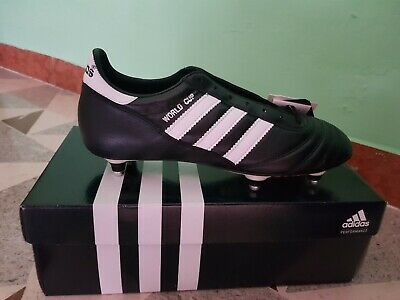 ADIDAS WORLD Cup Scarpe Calcio NeroBianco 011040