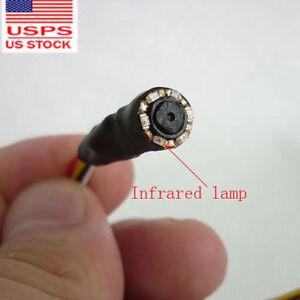 tiny Pinhole IR 1000TVL cctv mini video spy smallest CAM HD super small camera