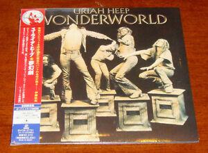 Japan Ss Mini Lp Cd Uriah Heep Wonderworld Ltd Oop Bvcm 37721 Ebay