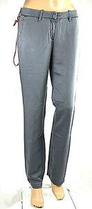 Jeans Donna Pantaloni MET C339 Gamba Dritta Grigio/Blu Avio Tg 27