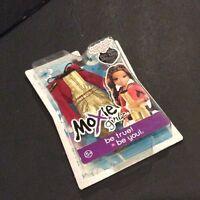 Moxie Girlz Girl Red Shirt & Gold Jumper Fashion Pack Doll
