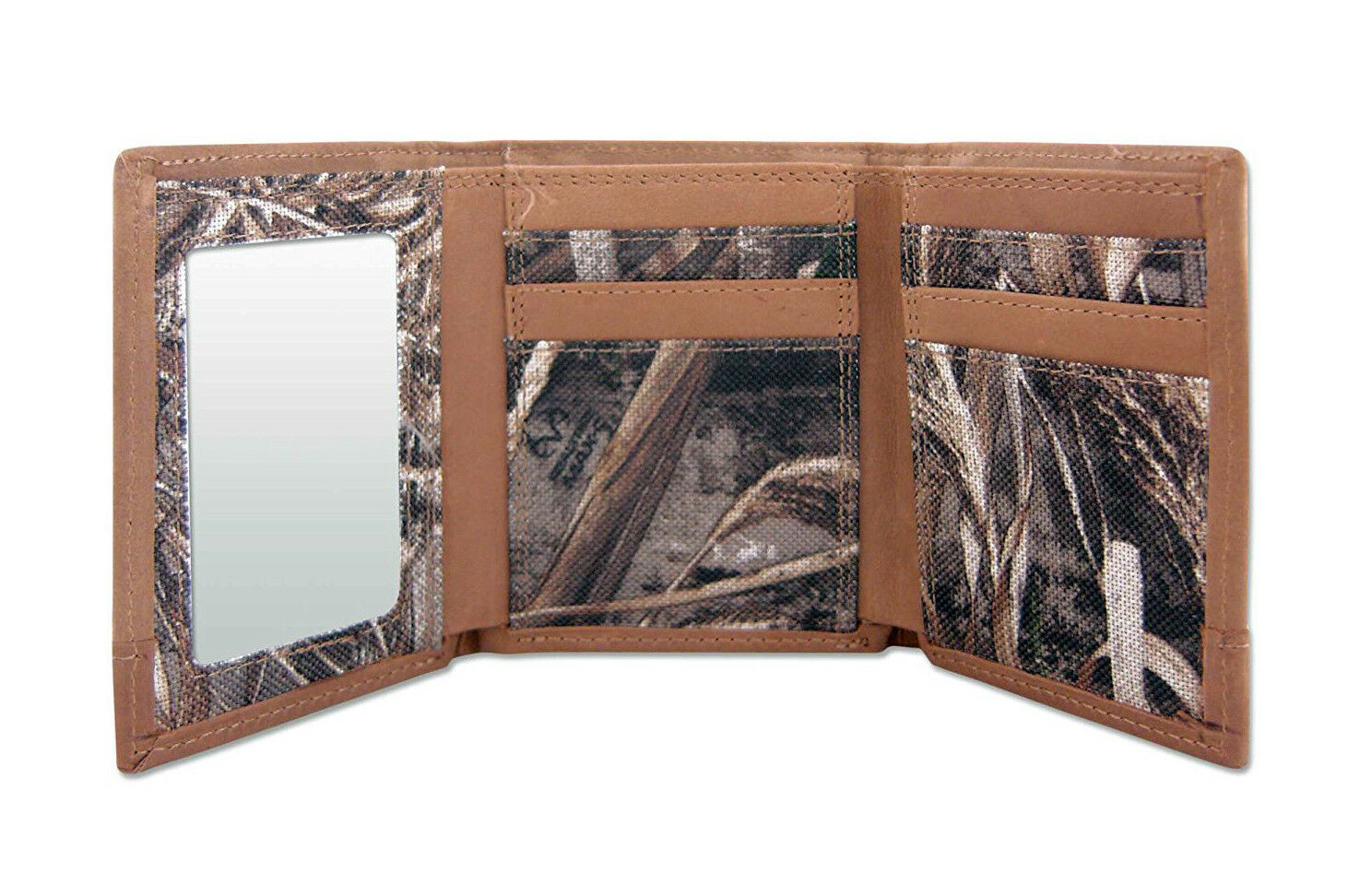 Penn State Nittany Lions Tri-fold Realtree Max-5 Camo /& Leather Wallet w// Concho