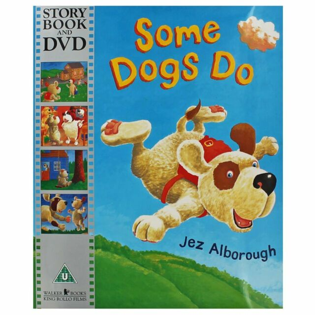 Some Dogs Do - Book And DVD, Jez Alborough, New