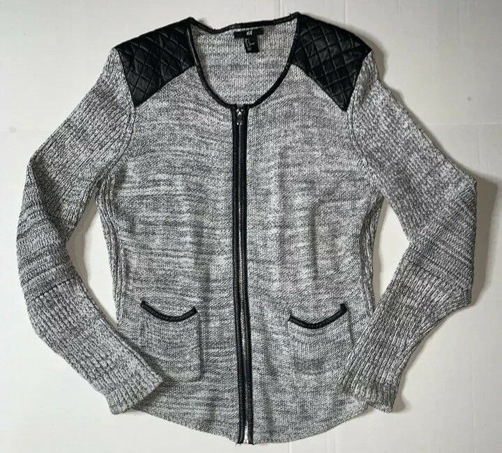 Preowned- H&M Full Zip Sweater Womens (Size L)