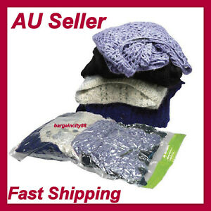 3x-Roll-up-Compression-Storage-Bag-Space-Saver-Travel-Luggage-Sealer-No-Vacuum