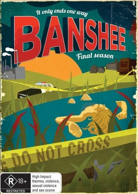 Banshee : Season 4 - FINAL (DVD, 3-Disc Set) NEW