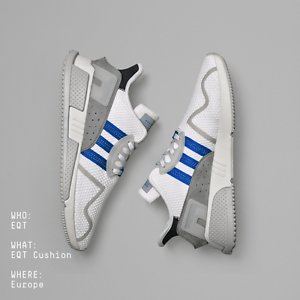 Adidas EQT Cushion ADV Europe White bluee