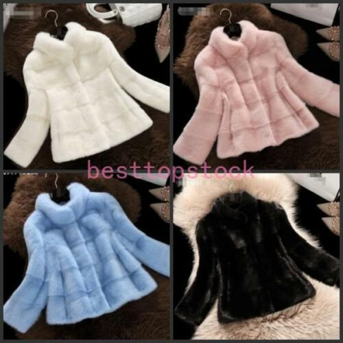 Lady Fur Jacket Winter Coat Sale Varm Parka Hot Womens Mink Outwear Sexet 1Fx5w