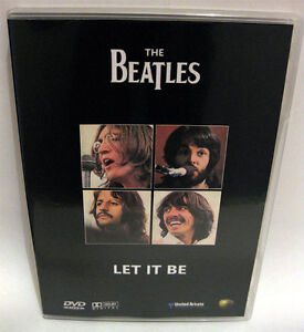 The-Beatles-Let-It-Be-Movie-DVD-Rare-amp-New