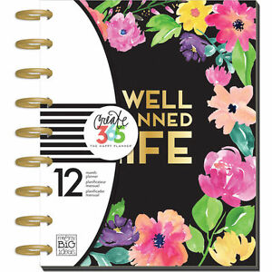 sale mambi the medium happy planner happy blooms 2017 agenda