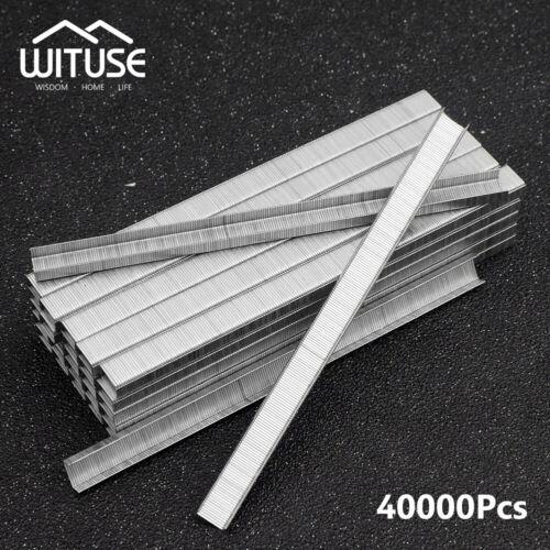 "1//4//8 Boxes 604C Staples Large Capacity For Stapler Tying Machine 0.24x0.16/"" 33"