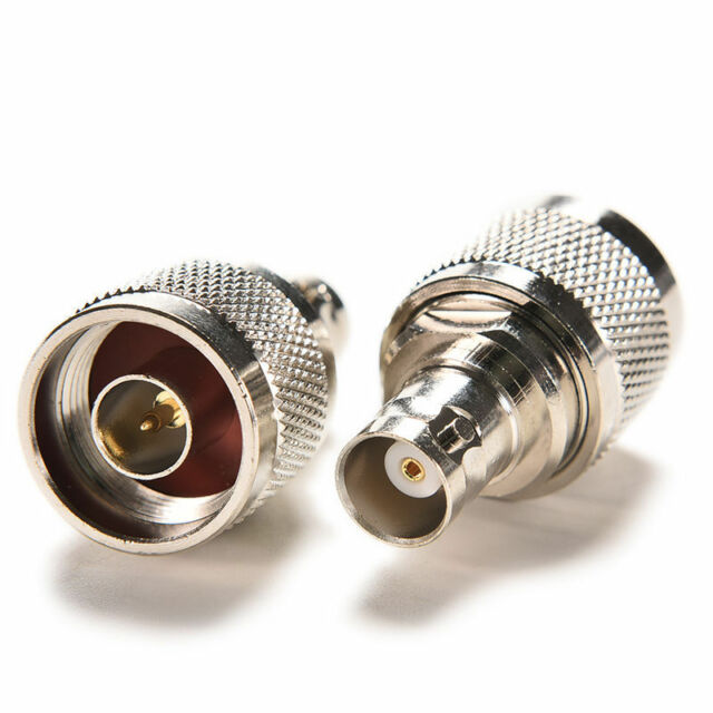Jack RF Coaxial N Type Male Plug to BNC Female Adapter Connector FSAU