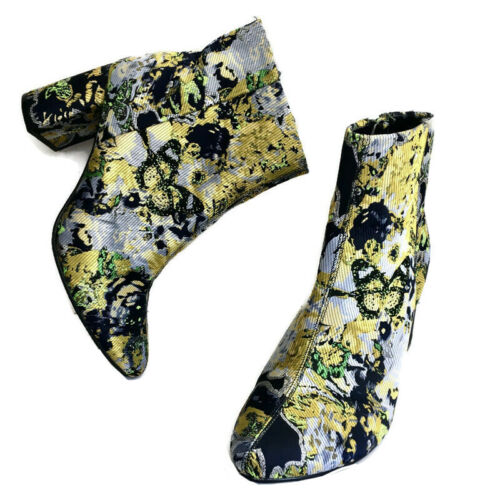 M&S Collection Brocade Tapestry Ankle Boots