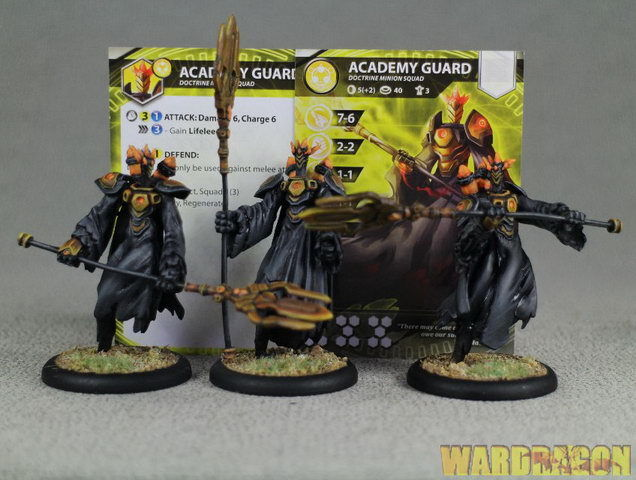 Relic Knights WDS painted Doctrine Minions Academy Guard z11