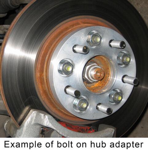 BULLONI CON TESTA CORTA PER AUTO RUOTA Distanziatore Adattatore M12x1.5 21mm VW Thread x 20