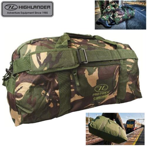 Highlander 65 L Camo Cargo Holdall Sac-Homme bagages Randonnée voyage Camping