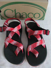 Chaco Z2 Yampa Spitit RXW Toe Loop Sport Sandals-Vibram-Rouge Red-Women Size 7