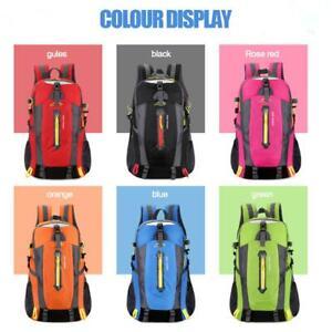 Waterproof-40L-Nylon-Outdoor-Hiking-Camping-Travel-Daypack-Rucksack-Bag-Backpack