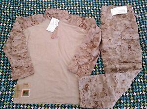 NWT-USMC-Desert-Digital-Frog-Shirt-and-Frog-Pants-COMBO-Size-XTRA-LARGE-REGULAR