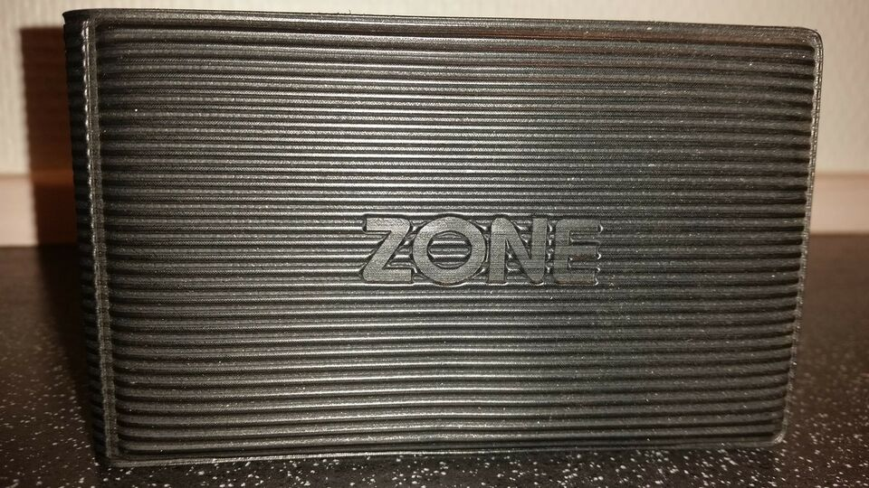 Kortholder, Zone